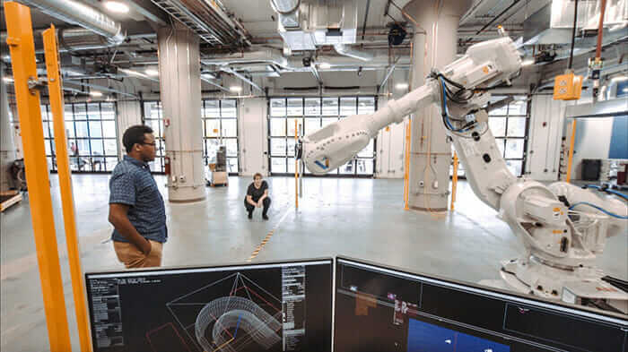 une interaction humain-robot