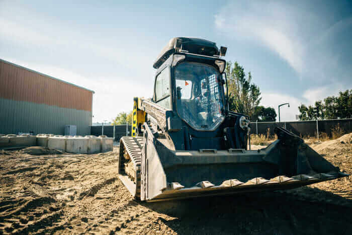 construction technology 2017 Built Robotics' autonomous track loader
