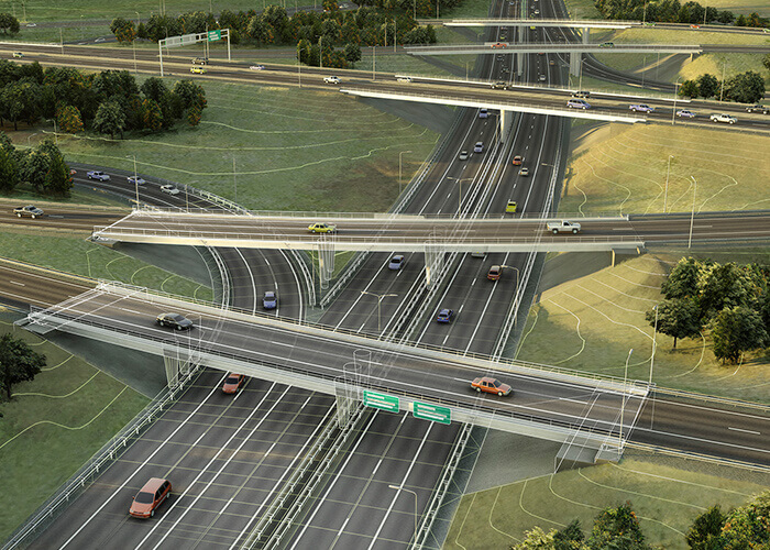 GIS and BIM integration roads highways