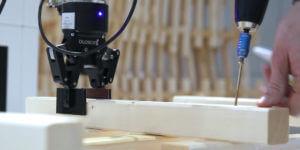 La réalité augmentée et un bras robotisé viennent prêter main forte au BTP