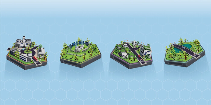Sustainable urban planning Sustain-a-city game tiles