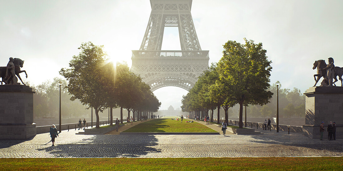 Grand site tour Eiffel