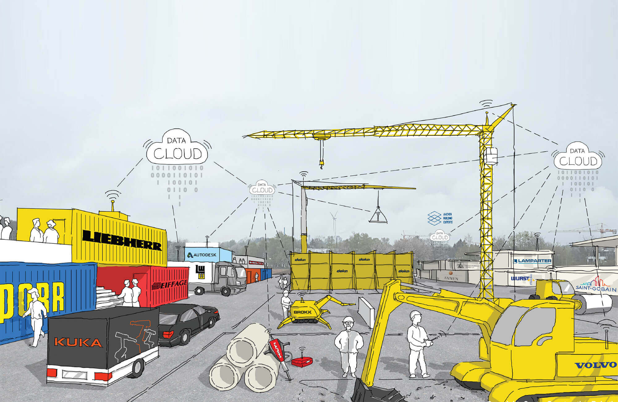 Chantier connecté : les futurs outils numériques du BTP