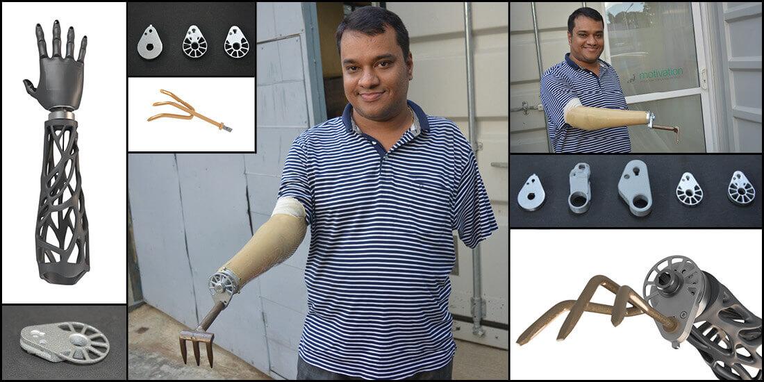 Prothèses Inde rurale Social Hardware