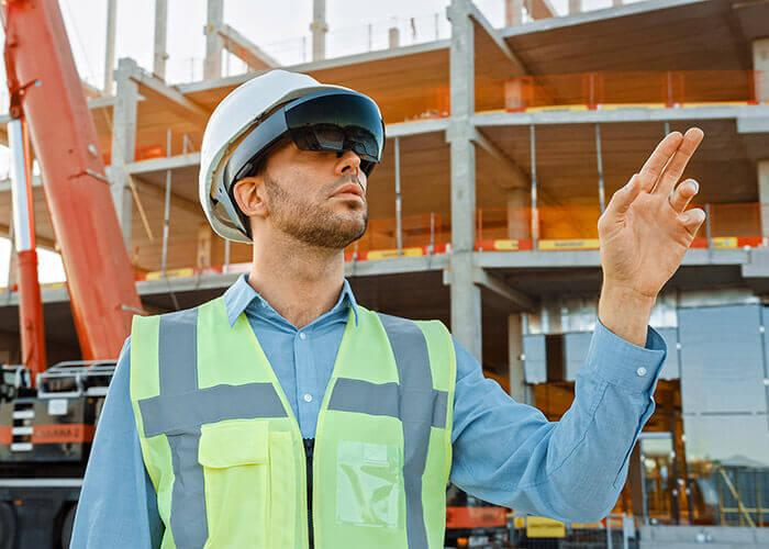 Réouverture des chantiers : technologies portables utilisées pour maintenir les distances physiques