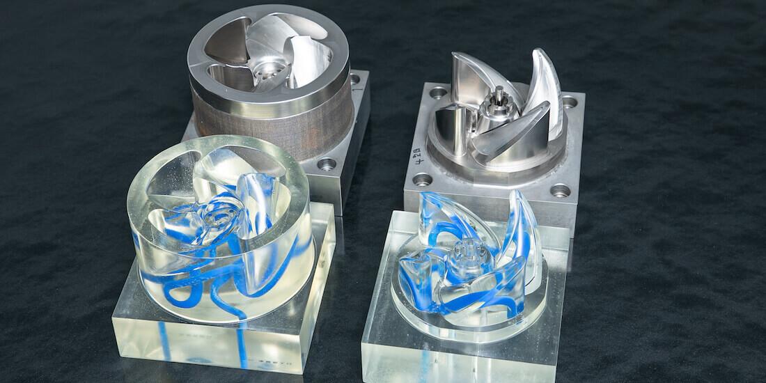 Injection plastique chez Panasonic : pales de ventilation