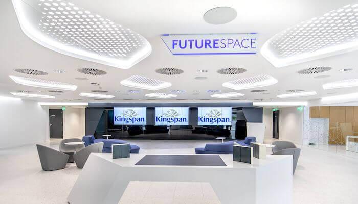 Nouveau Centre Mondial d'Innovation de Kingspan : IKON, modèle de bâtiment intelligent
