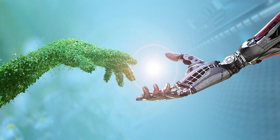Robots plantes Growbot : robot inspiré des plantes