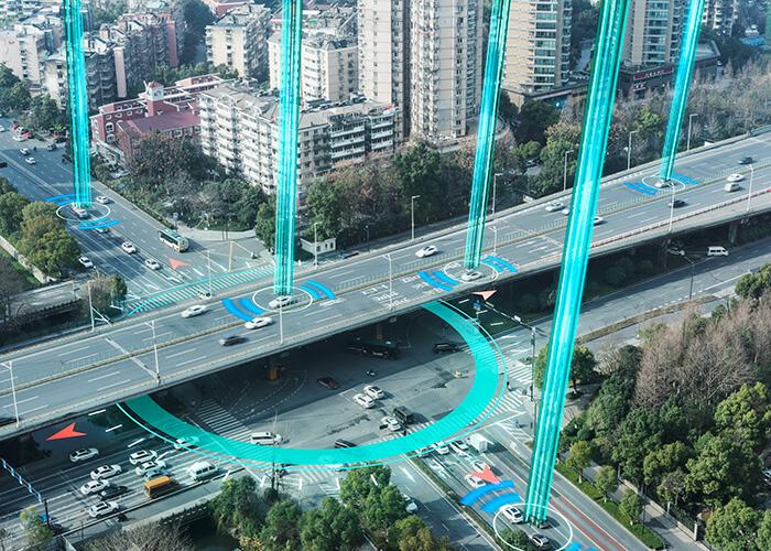 Infrastructures routières intelligentes