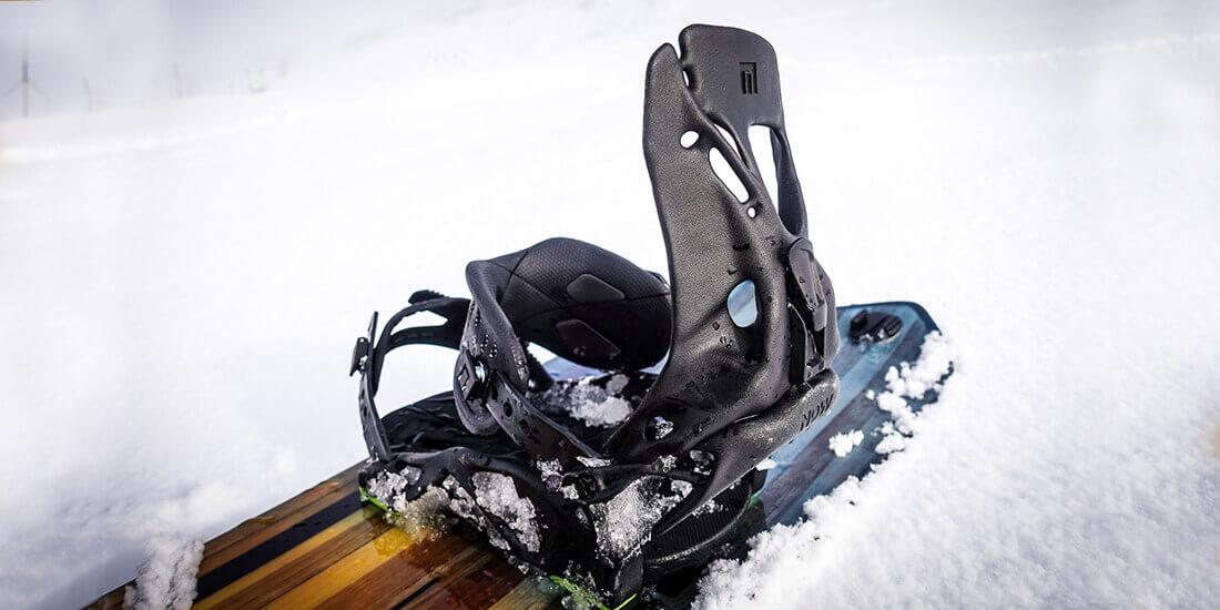 Fixation snowboard imprimée en 3D
