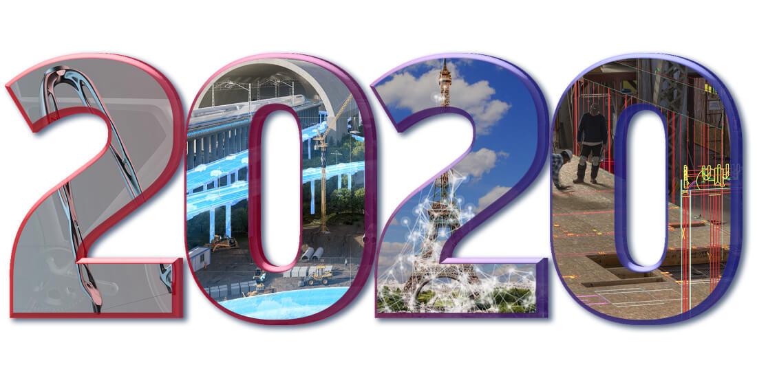 Bilan de la digitalisation 2020 : un nouveau tournant pour le BTP, l'architecture, et le secteur industriel