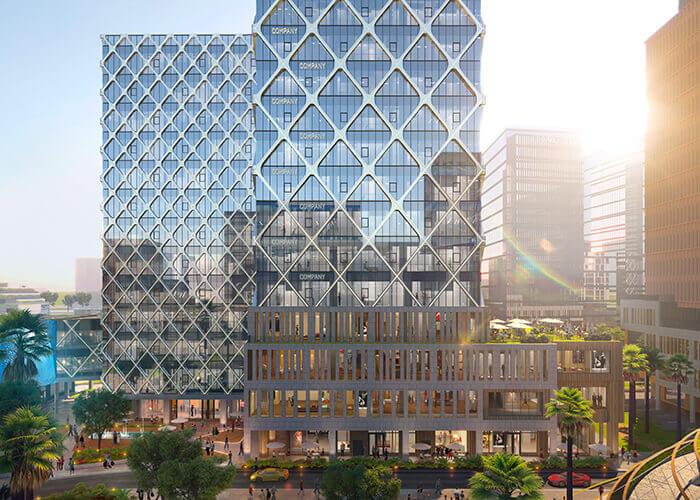 Sweco a conçu l'Office Park dans une optique de développement durable