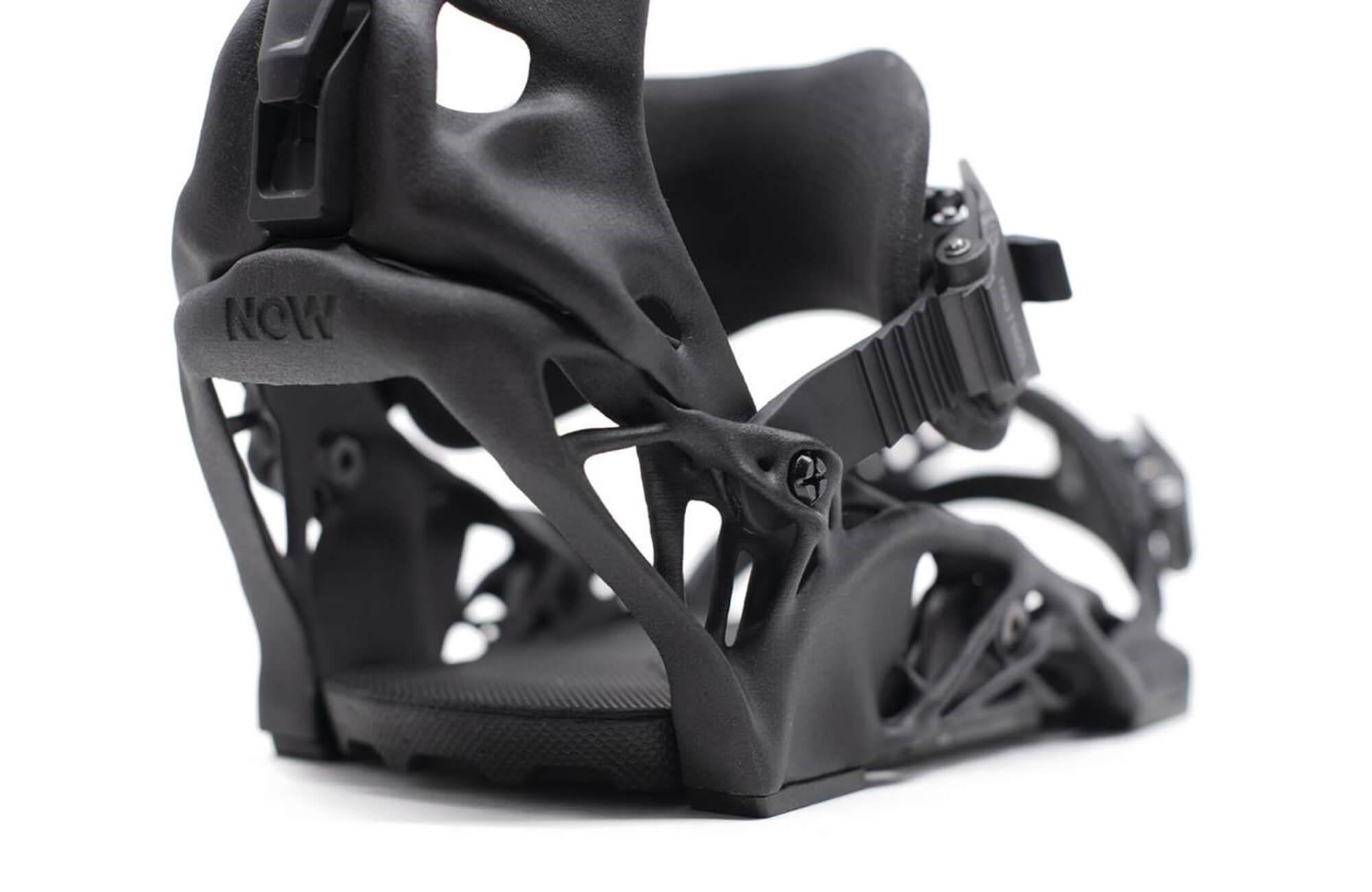 Fixation de snowboard imprimée en 3D
