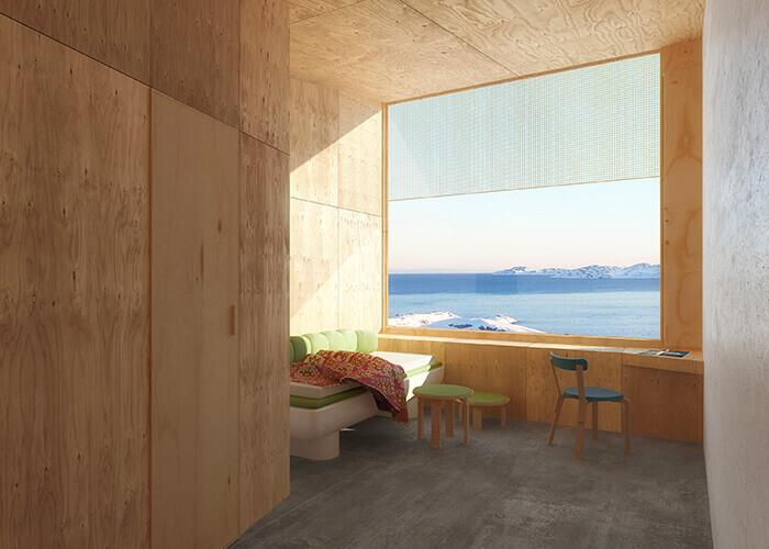 Le logiciel BIM 360 d'AutodeskWhite Arkitekter a conçu un centre de soins au Groenland