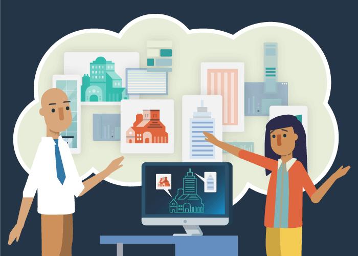 Alimentée par la conception générative, l'IA et l'apprentissage automatique, la simulation permet aux architectes d'optimiser une conception à l'aide des données provenant de centaines de projets semblables.