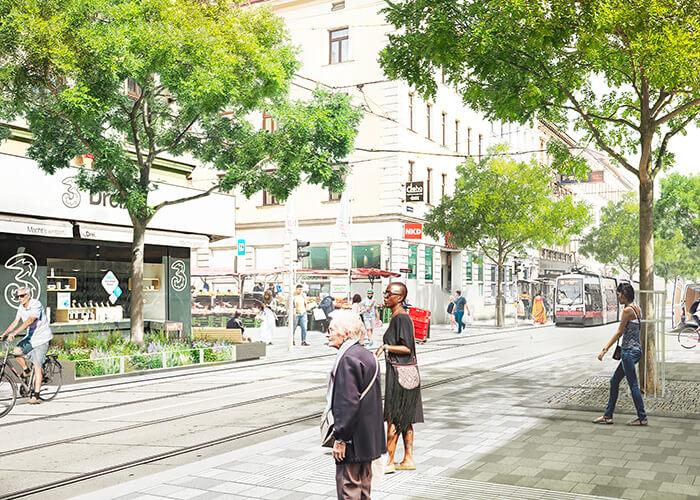 La Thaliastraße, dans le 16e arrondissement de la capitale autrichienne