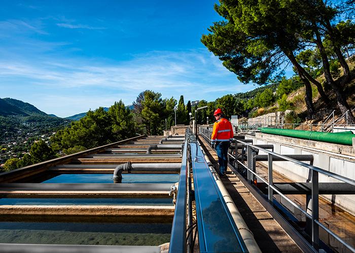 Les outils de Veolia permettent de mieux gérer les risques dans l'immédiat au lieu d'avoir à attendre des années pour remplacer les infrastructures existantes. Crédit : Veolia Water Technologies.