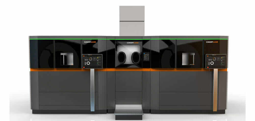 industrial additive manufacturing trends concept laser