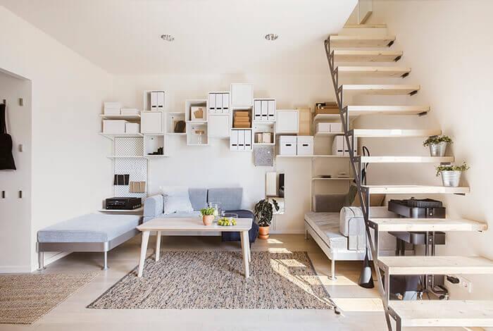 Edifici a energia positiva: l'interno della Solace House.