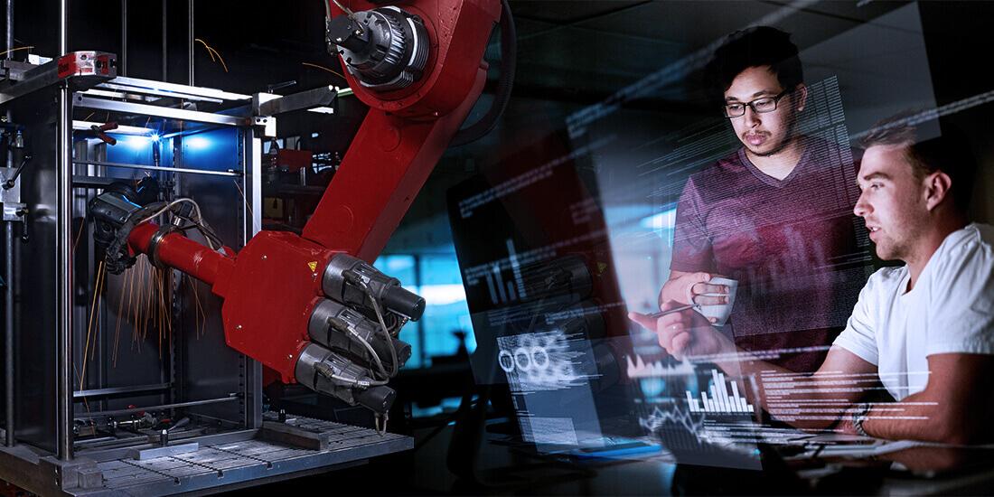 Un cervello sintetico potrebbe rendere più accessibile l'automazione della produzione manifatturiera?
