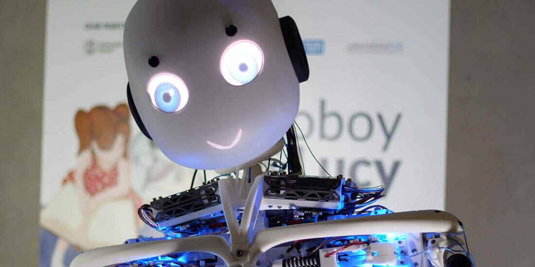 humanoid robot design roboy 2.0