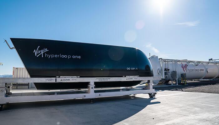 Circuito di prova Hyperloop One
