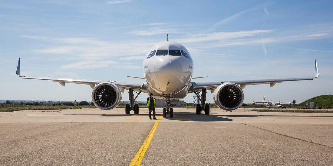 L'Airbus A320. Per gentile concessione di Airbus.