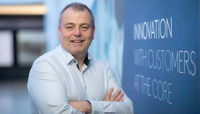 Mike Stenson, responsabile per l'innovazione di Kingspan.