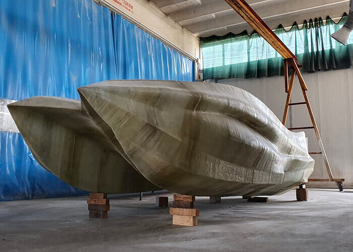 barca stampata in 3D MAMBO