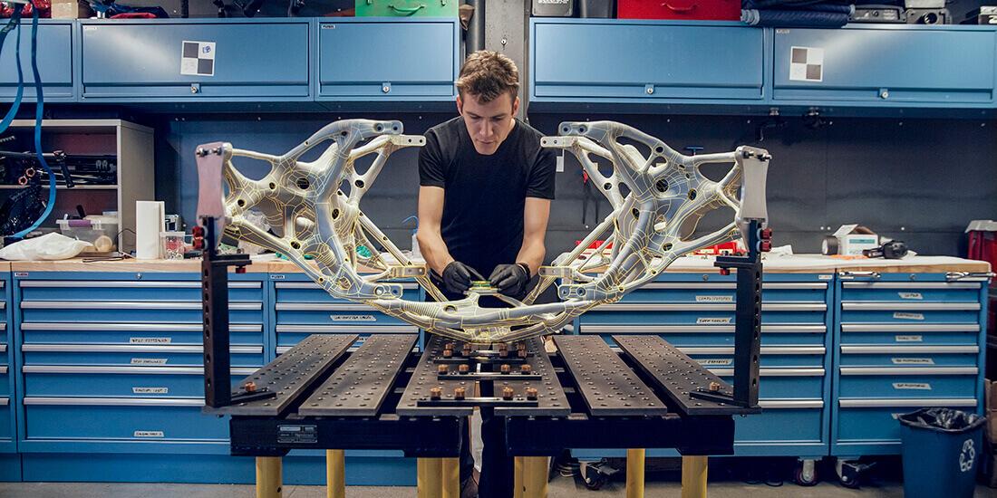 Il design generativo si è dimostrato di grande utilità per creare oggetti più leggeri.