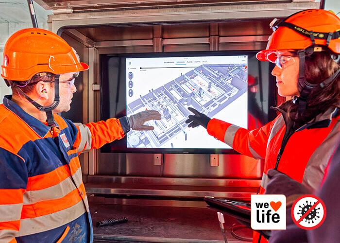 industrializzazione edilizia: le donne e gli uomini di Bouygues Construction.