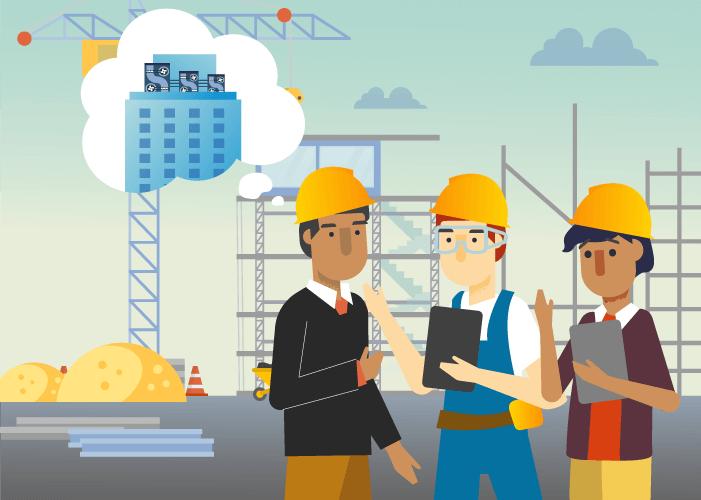 Collaborazione interdisciplinare: Grazie alle API basate sui dati è possibile trasferire solo le informazioni rilevanti per un determinato compito, per es. i dati di progettazione per il sistema HVAC di un condominio, accelerando così l'intero processo e proteggendo la proprietà intellettuale.