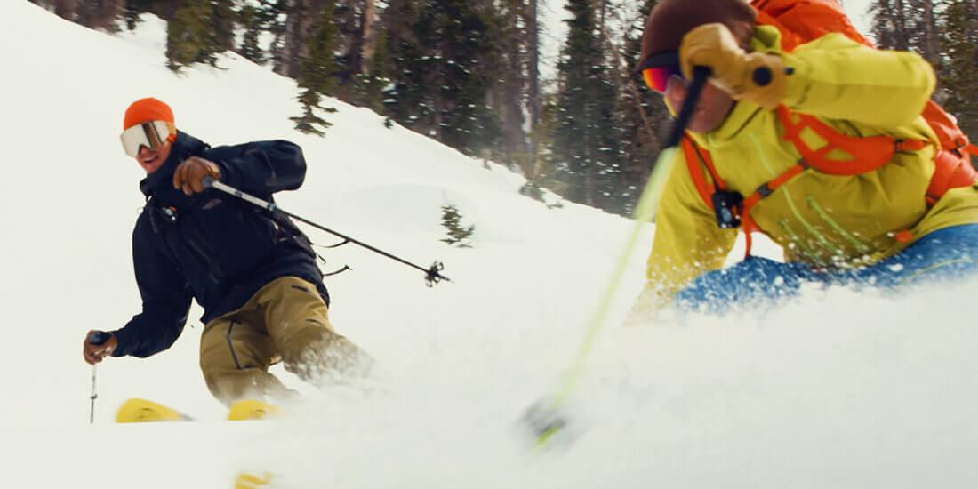 sciare in modo sostenibile