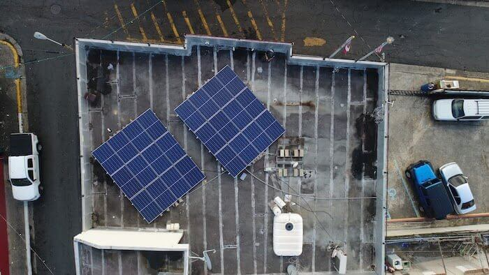 microgrid energy rooftop solar panels