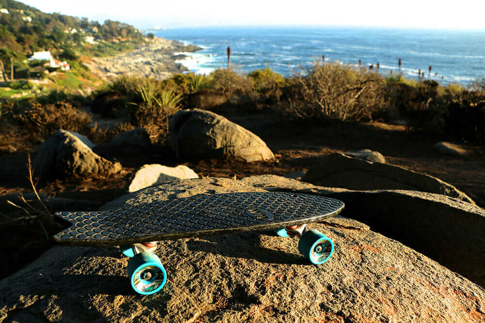 entrepreneurship in Chile Bureo Minnow skateboard