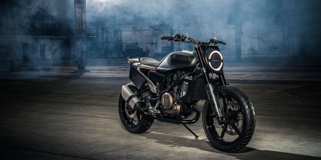 motorcycle design husqvarna svartpilen 701