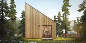 Cómo la construcción de balance energético positivo puede crear minicasas con un gran impacto ambiental