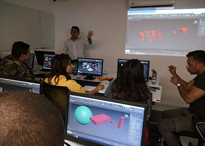 disability employment 3ds max software course