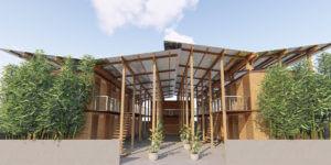 Las casas modulares de bambú que podrían poner freno a la crisis filipina de vivienda