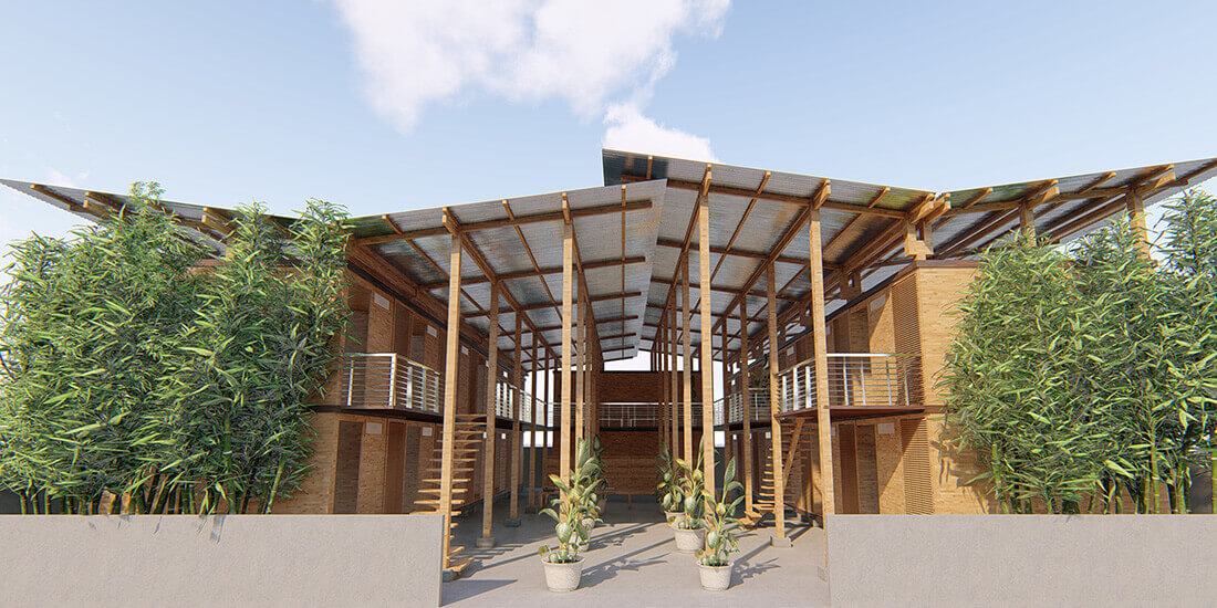 bamboo modular homes cubo