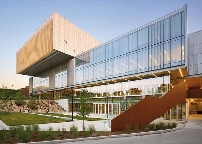 collaborative architecture York University student center Toronto cannondesign