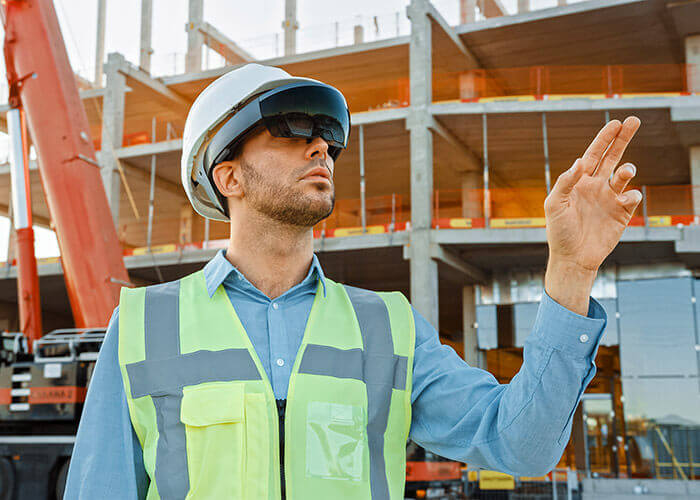 AR headsets and other wearable technologies can help complete inspection tasks on site more safely.