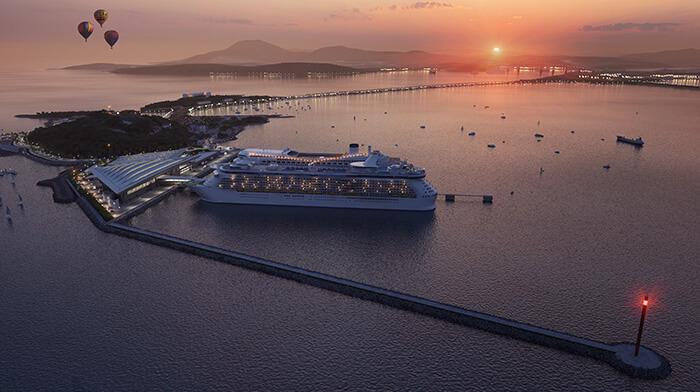 Desde la Terminal de Amador podrá verse el paisaje a ambos lados del océano Pacífico. Gentileza Mallol Arquitectos.
