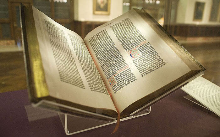 Gutenberg Bible at NYC Public Library