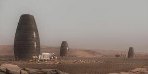 机器人建造火星住所的做法为地球上可持续的建筑提供借鉴作用