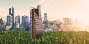 建筑商宣告大型木建筑浪潮即将来临