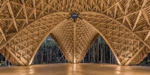 竹制零碳建材走向世界