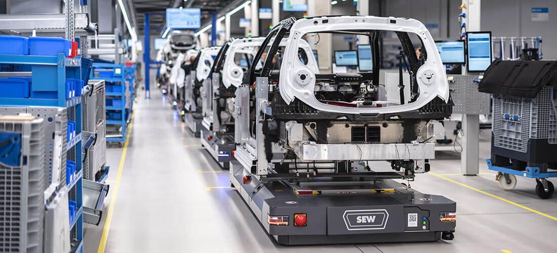源自德国现代化工厂设计的卓越电动汽车