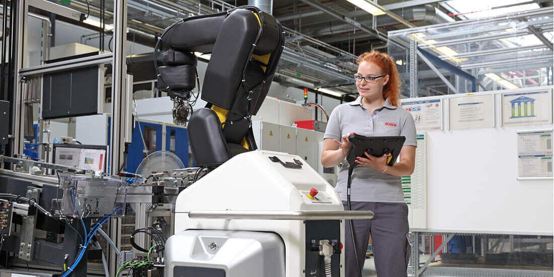 bosch geleceğin fabrikası üretim