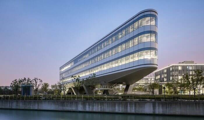 green building technology johnson controls apac office